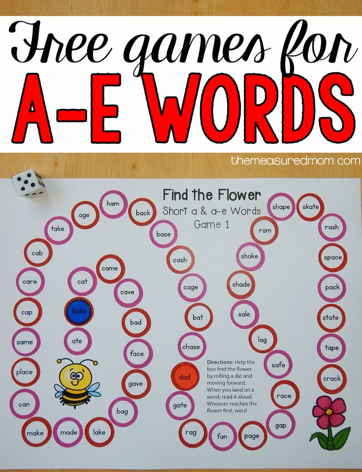 Learn to Read: Free Phonics worksheets, Phonics Games ...