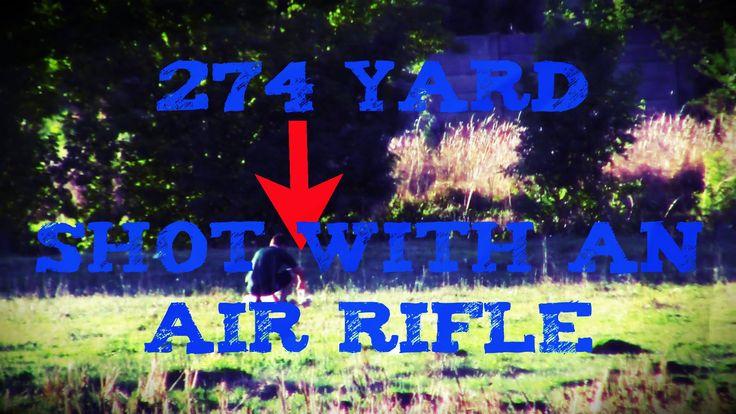 274 Yard Air Rifle Shot - Daystate Wolverine