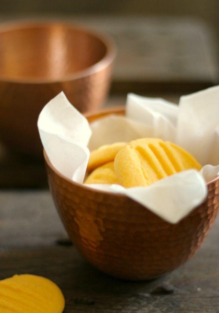 Custard Cookies - quick and easy recipe - nowaddsugar