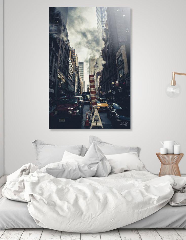 «New York i», Limited Edition Acrylic Glass Print by haroulita - From 95€ - Curioos  @curioos #curioos #artdeco #streetphotography #newyork #newyorkcity #shopping #homedecor #homedecorideas #wallart
