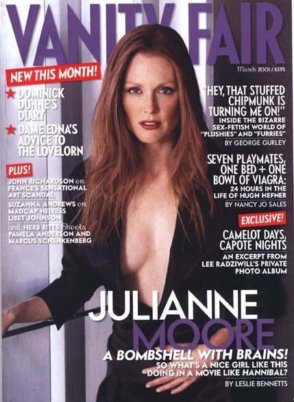 Julianne Moore - Vanity Fair Magazine [United States] (March 2001)