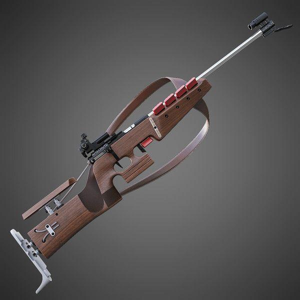 3dsmax biathlon rifle - Biathlon Rifle... by Tornado Studio