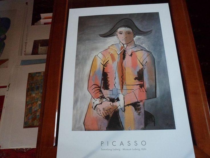 Pablo Picasso - Harlekin - Kunstdruck / Affiche Art Print Láminas