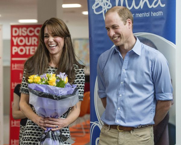 The Duke & Duchess of Cambridge Mark World Mental Health Day: