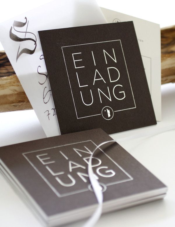 Einladung - Invitation