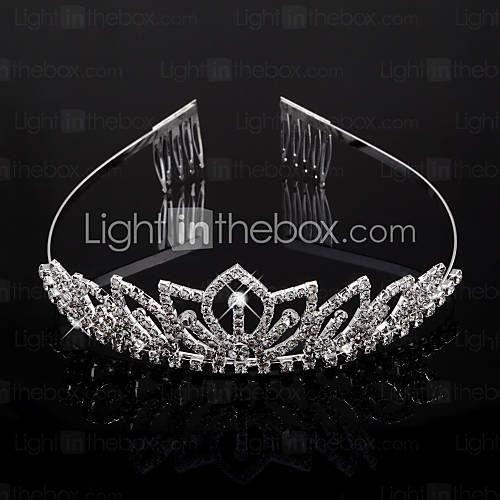 [EUR € 12.37] heldere kristallen bruiloft bruids tiara