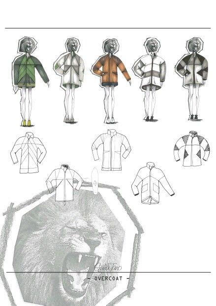 Unisex overcoat Project  Giulia Tano