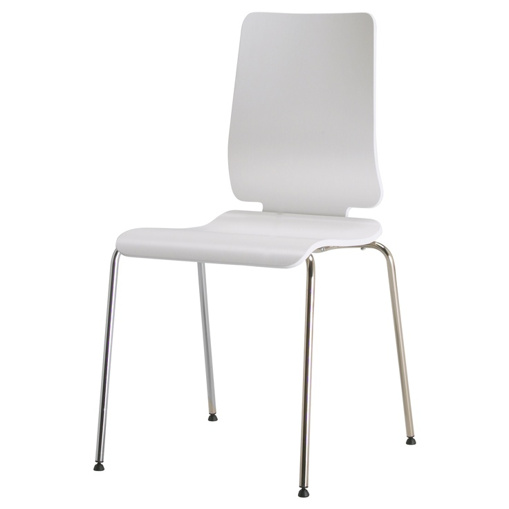 Superbe For The Kitchen  GILBERT Chair IKEA Stackable; Saves Space When Not In Use.
