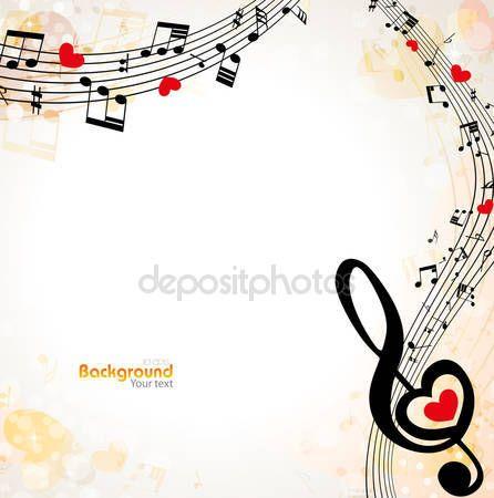 Hudební pozadí — Stocková ilustrace #59541155