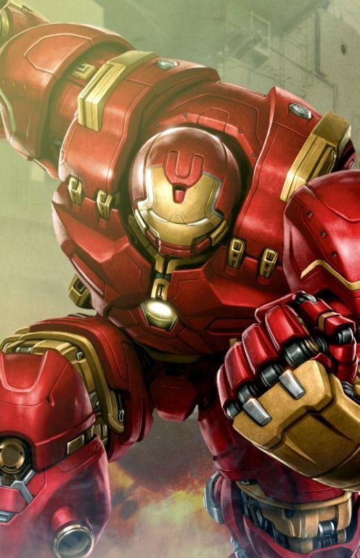 Hulk Buster~Avengers: Age of Ultron - Armadura em cima de armadura, isso é muito foda.