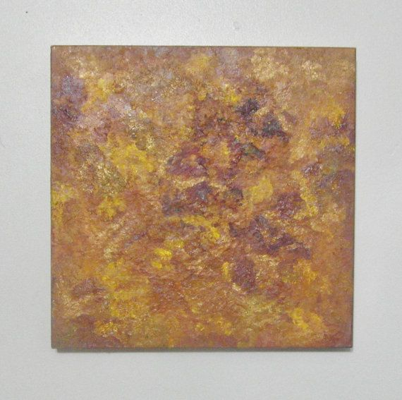 Abstract art  Sensing  encaustic painting  by SumertaDesigns