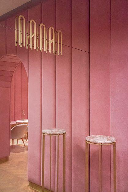 Drei Farben Rosa: Konditorei in Breslau