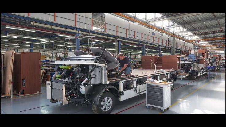 Building A Flair Inside Niesmann + Bischoff Factory