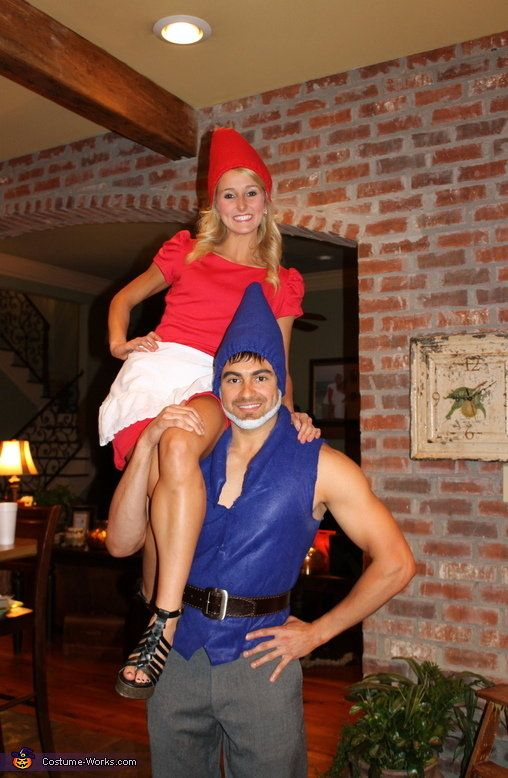 Gnomeo And Juliet Cute Couple Halloween Costumes  sc 1 st  Meningrey & Cute Unique Couple Halloween Costume Ideas - Meningrey