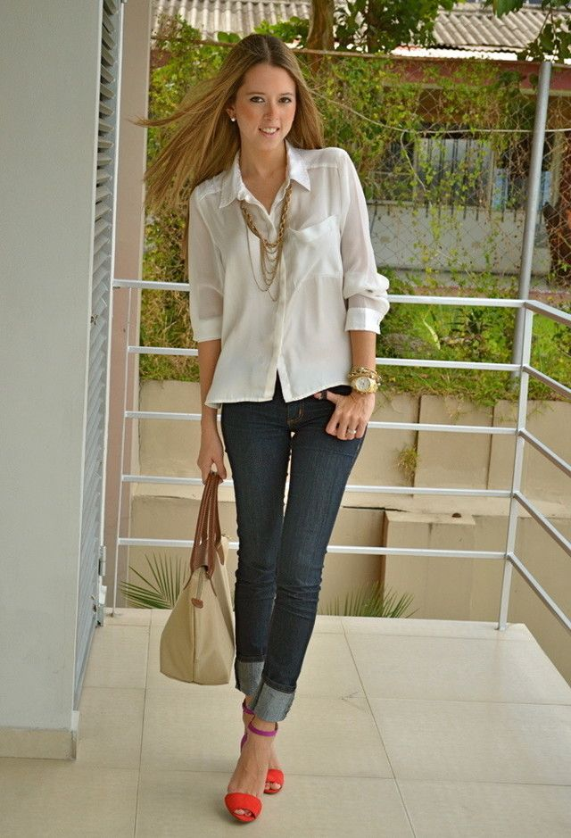 38 Stylish Work Clothes – depends on where you work. Most are not professional attire but still look great. Business casual.