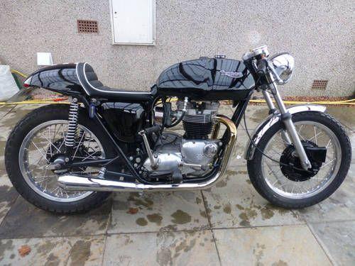 triumph cafe racer triumph bonneville t120 cafe racer for sale 1972 motorcycles. Black Bedroom Furniture Sets. Home Design Ideas
