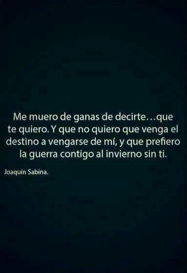 Joaquin Sabina... Genio para el desamor.