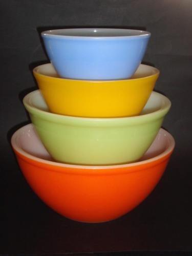 23 best Pyrex Colour Nesting Bowls images on Pinterest | Nesting ...