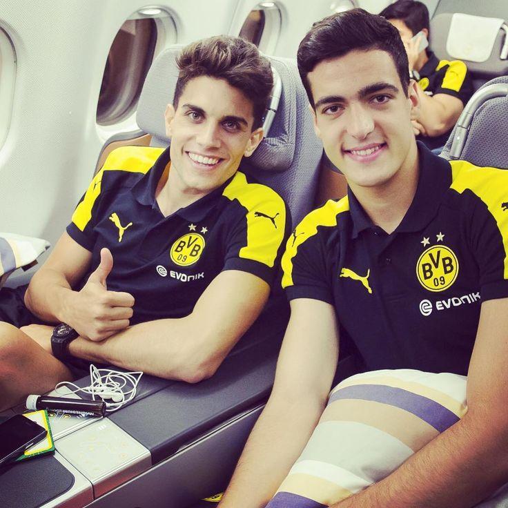 Marc Bartra and Mikel Merino - Preseason 2016/17 Borussia Dortmund