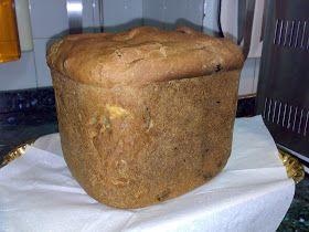Recetas de Pan en Panificadora: Pan de canela, pasas y nueces