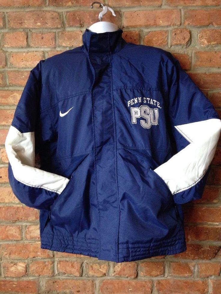 VTG 90S PENN STATE NITTANY LIONS PSU NIKE Coat JACKET NCAA MENS Med M EUC  | eBay