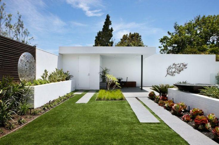 estupedno diseño de jardín contemporáneo