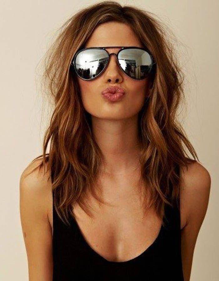Souvent Les 25 meilleures idées de la catégorie Coupes de cheveux mi longs  FV45