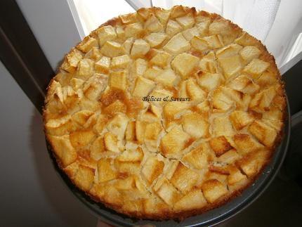 Clafoutis+aux+pommes+et+à+la+poudre+d'amandes