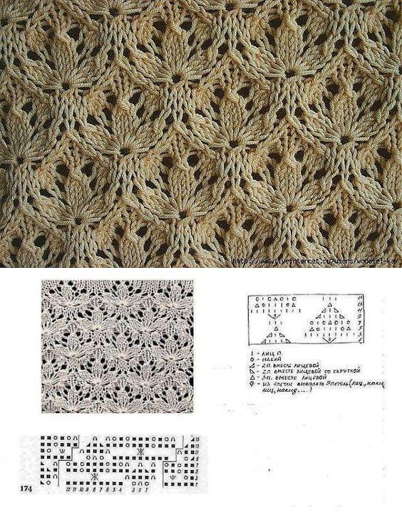 вязание -спицы | 65 фотографий