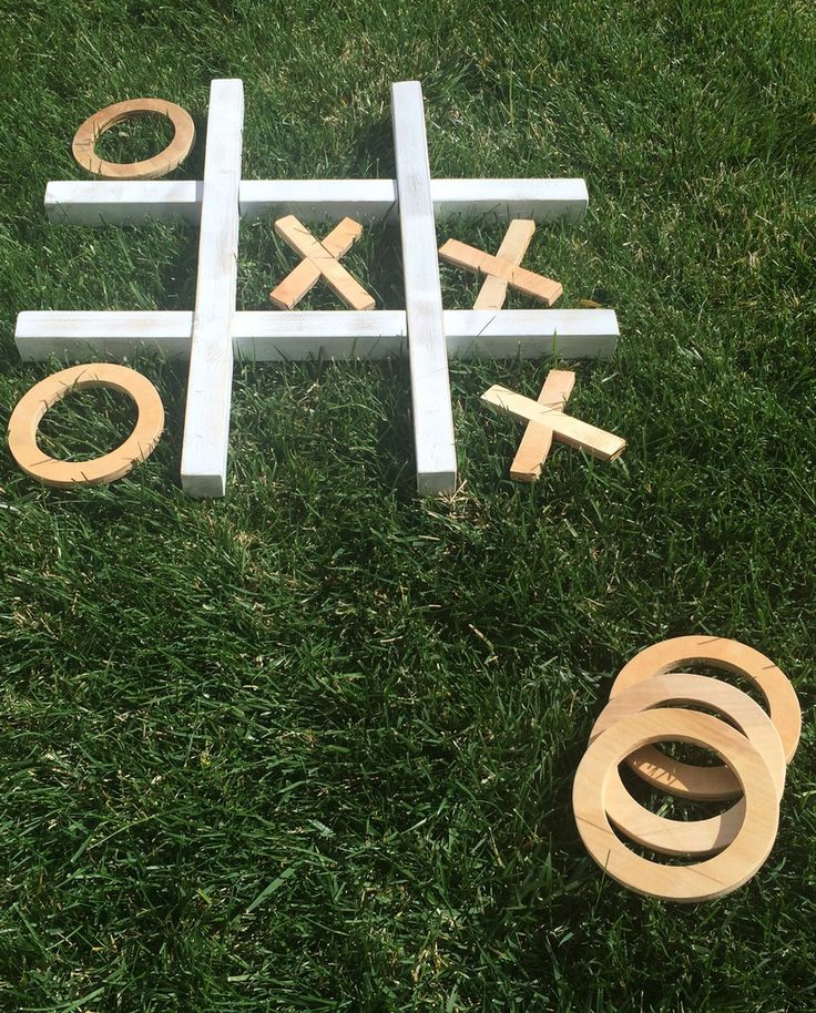 Back Yard Tic-Tac-Toe