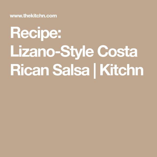 Recipe: Lizano-Style Costa Rican Salsa | Kitchn