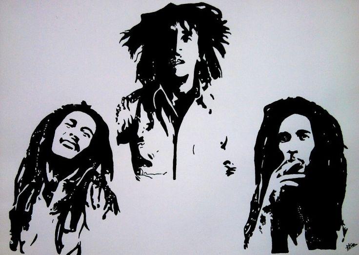 Fonds d'écran Art - Crayon > Fonds d'écran Musique bob marley par idark25 - Hebus.com | Bob ...