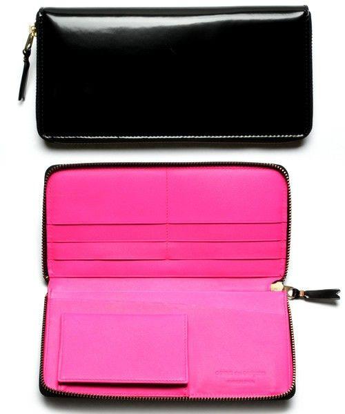GLOSSY BLACK (SA0110FL)(財布) Wallet COMME des GARCONS(ウォレット コム デ ギャルソン)のファッション通販 - ZOZOTOWN