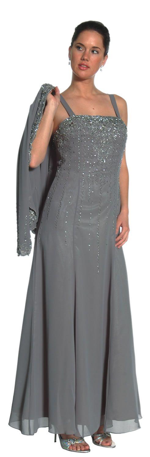 Night scene mother of the bride dresses