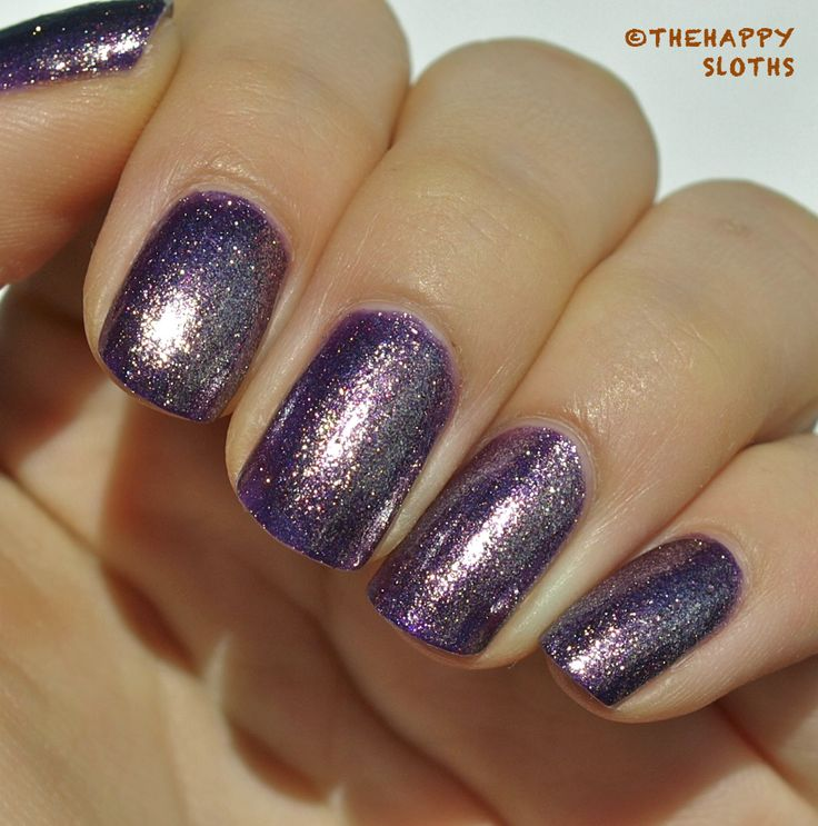 """The Happy Sloths: Julep Nail Polish in """"Julia"""": Review and Swatches"""