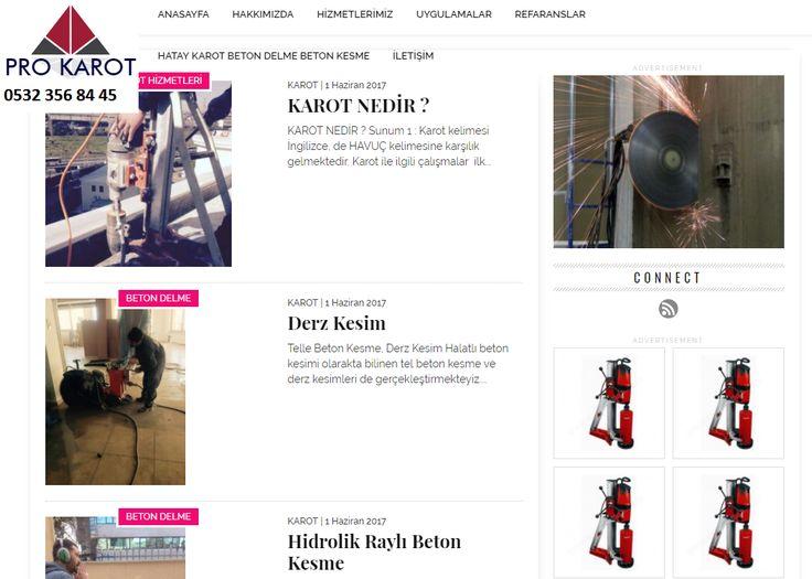 www.karot.pro Hatay karot , İskenderun karot , Dörtyol karot , Hatay beton delme