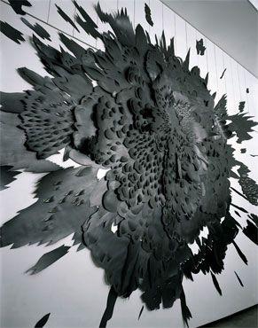 """Andreas Kocks, """"Paperwork #701G (In The Beginning)"""", 2007"""