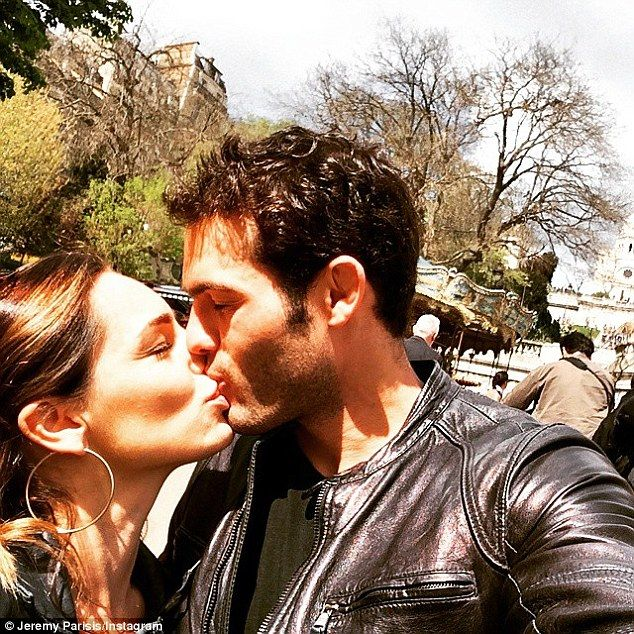 Sealed with a kiss: Kelly Brook's romance with Jeremy Parisis