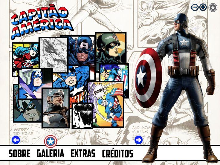 Projeto Capitão América - Tela 03
