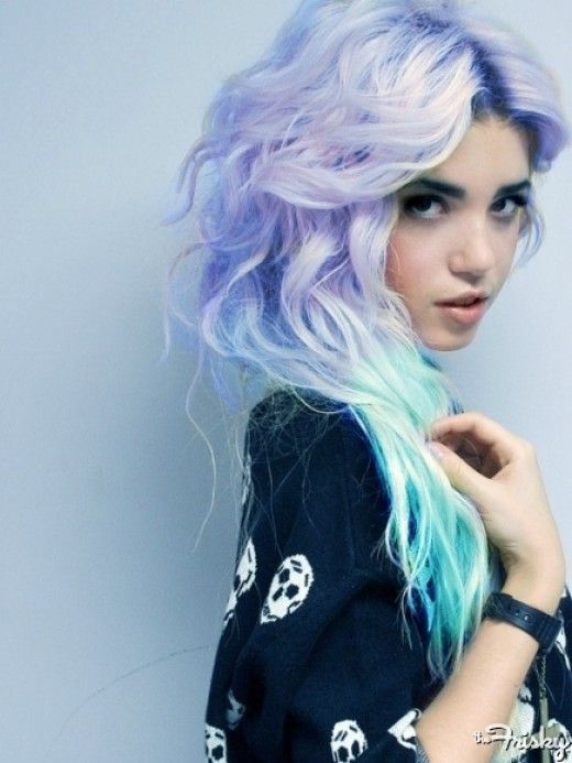 I've been loving these pastel hair color trends! I should get some wigs or somethin'