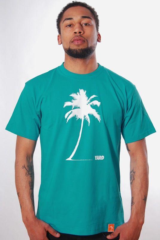 PALM BEACH, T-Shirt, Aqua