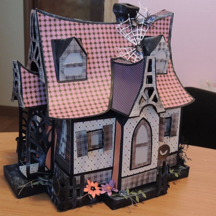 Bewitched Cabin from SVGCuts using Close to My Heart ...