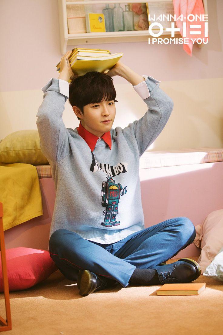 Kim Jaehwan   Wanna One   0+1=0 (I Promise You) Album   Day ver.