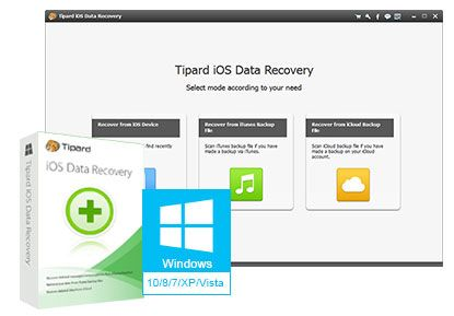 Tipard iPhone Data Recovery Free