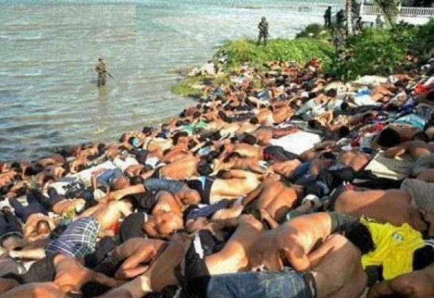 e énième version de Sabra et Chatila Les autorités de l'Etat de Rakhine participent depuis 2012 à une campagne de « nettoyage ethnique » contre la minorité musulmane dans cette région de l'ouest de la Birmanie, accuse lundi Human Rights Watch (HRW), qui...