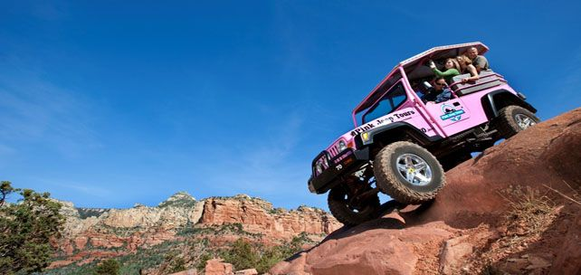 Pink Jeep Tour in Sedona, AZ is a blast! Took the family from Connecticut and they had a blast
