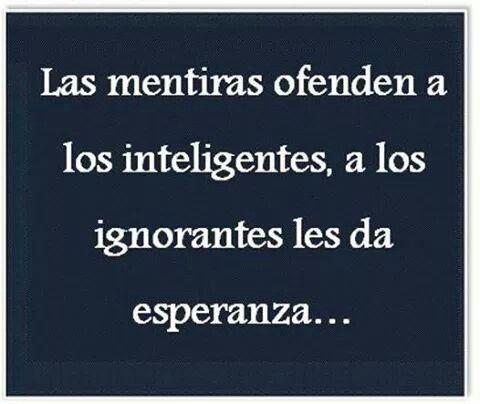 Las mentiras #frases :(