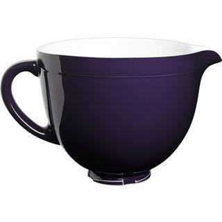 4,8L Keramikschüssel - Brombeer 5KSMCB5RP