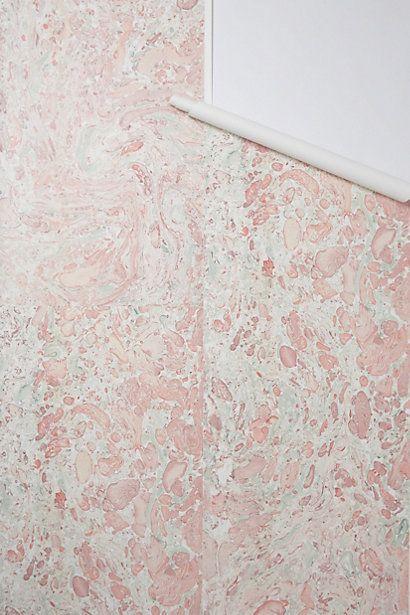 Marbleization Wallpaper #anthropologie | wall art ...