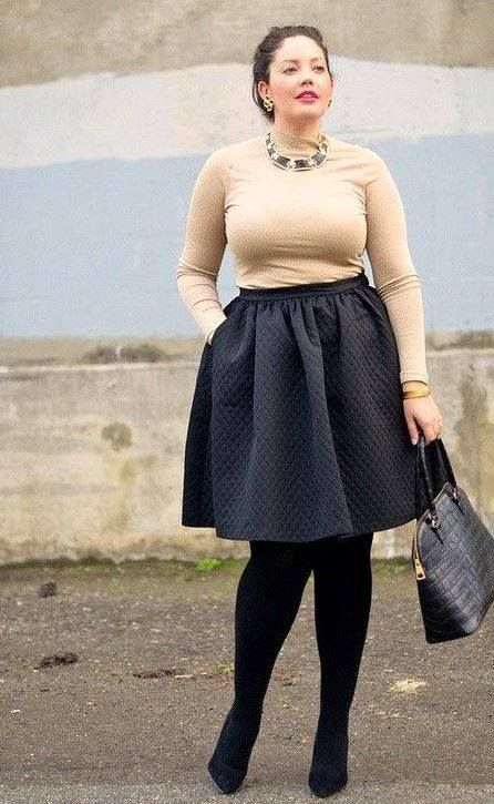 falda plus size